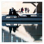 Senora Calatrava erklärt die Architektur ihres Gatten