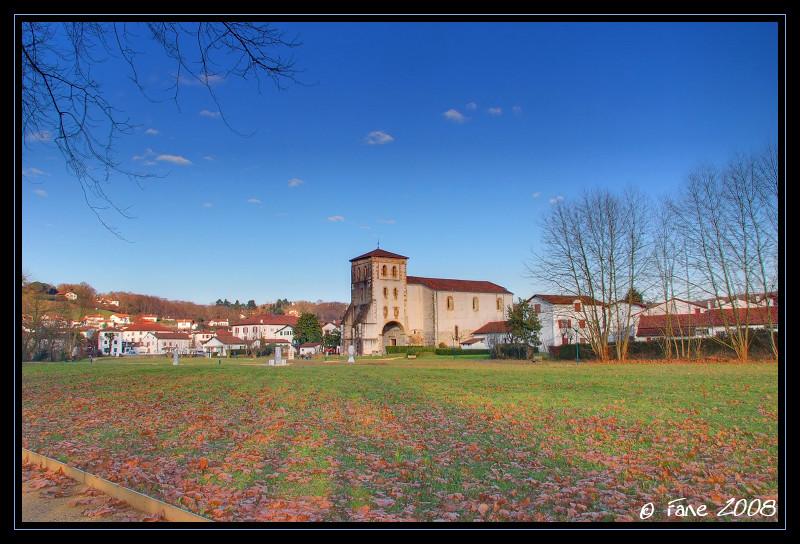 Senpere's church (église de St Pée sur Nivelle)