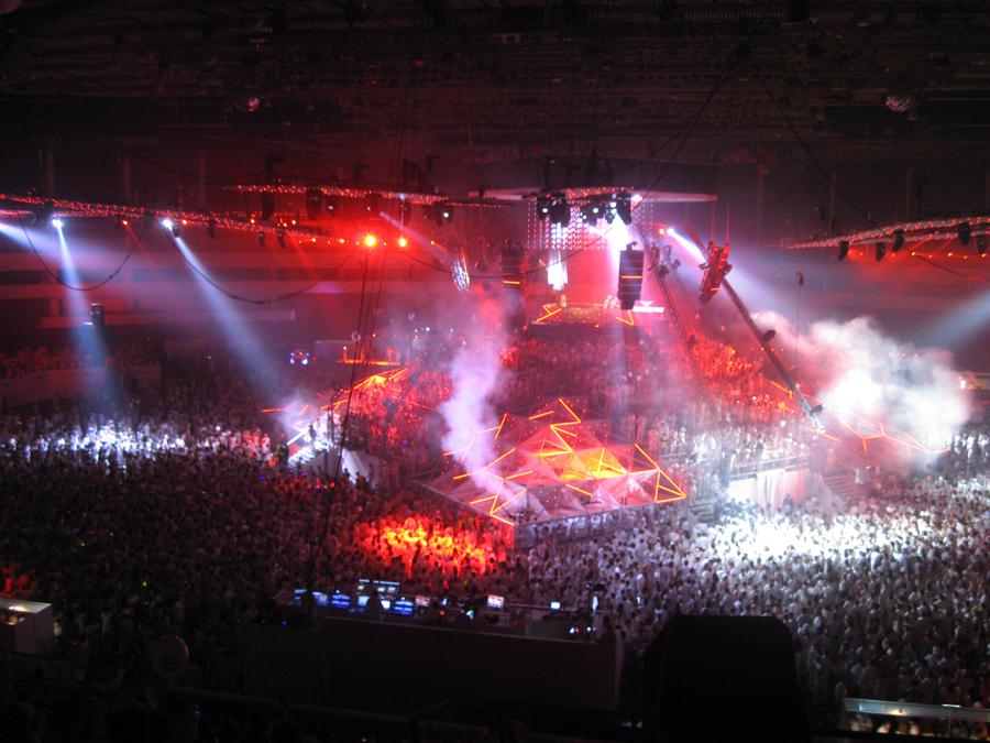Sensation 2011. St. Pitersburg.