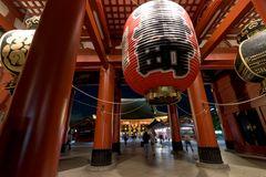 Sensouji-temple at night