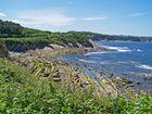 Sentier littoral Côte Basque : En arrivant à Hendaye