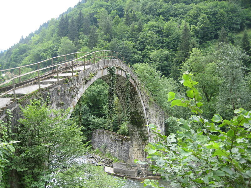 Senyuva Bridge, Rize, Turkey
