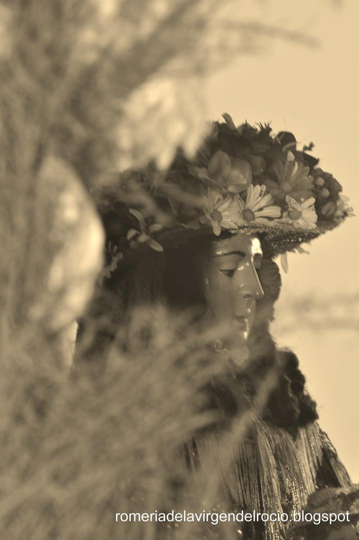 Señora Pastora Rocio Chico Almonte...Huelva 2012