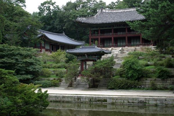 Seoul - Changdeokgung, Biwon (Secret Garden)
