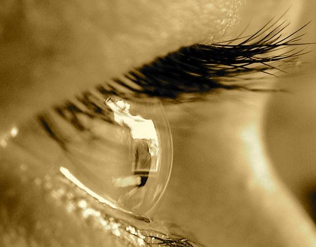 Sepia Auge