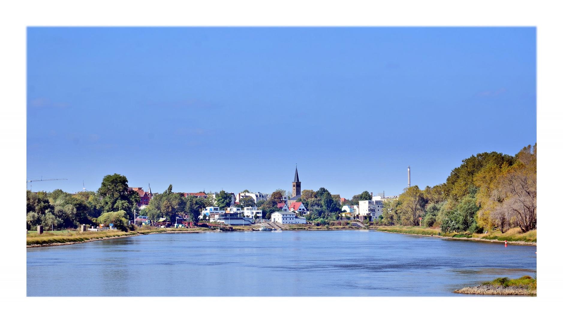 September-Elbe