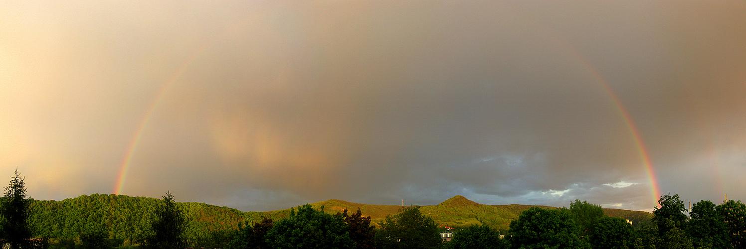 September-Regenbogen