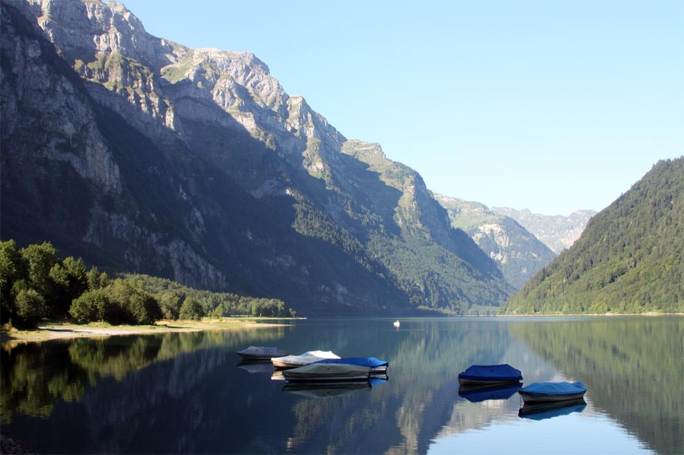 Septembermorgen am Klöntalersee