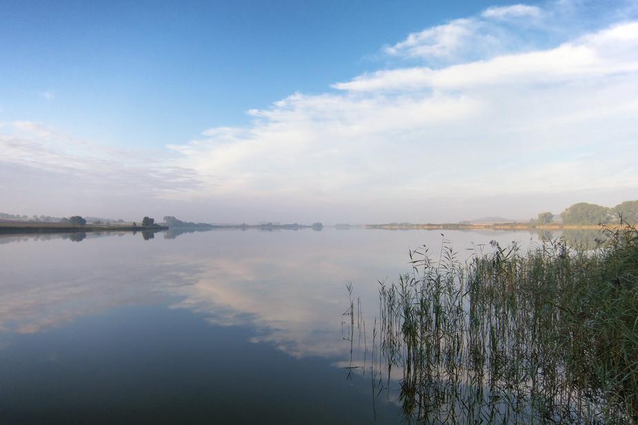 Septembermorgen am See