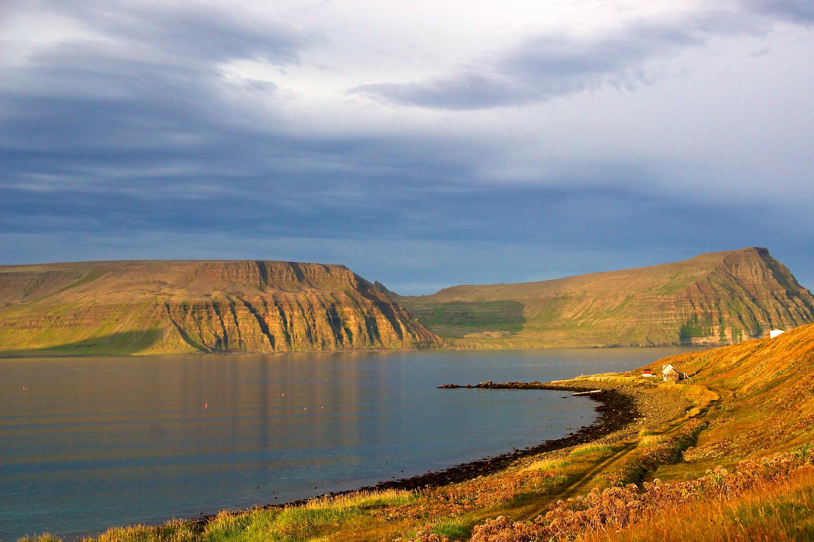 """""""Septembermorgen"""", Hornstrandir, Island"""