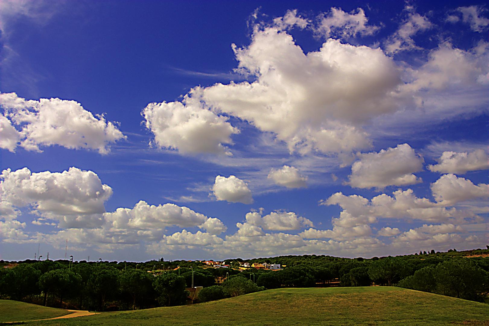 Septiembre y sus cielos