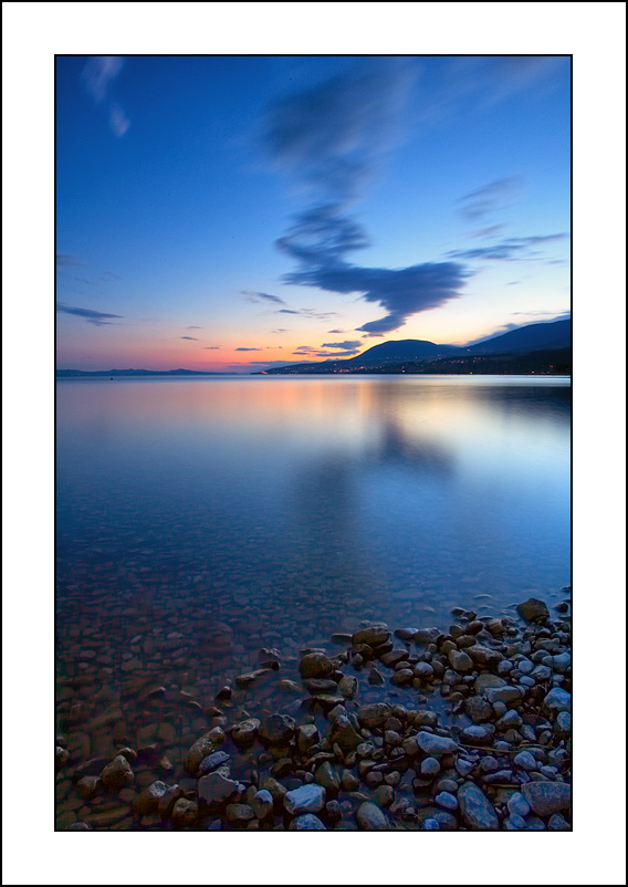 Sérénité au bord du lac