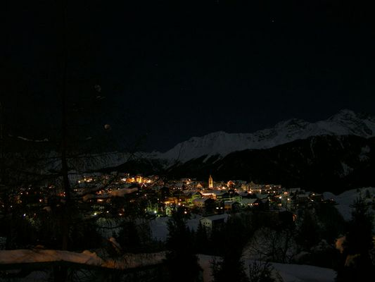 Serfaus bei Nacht