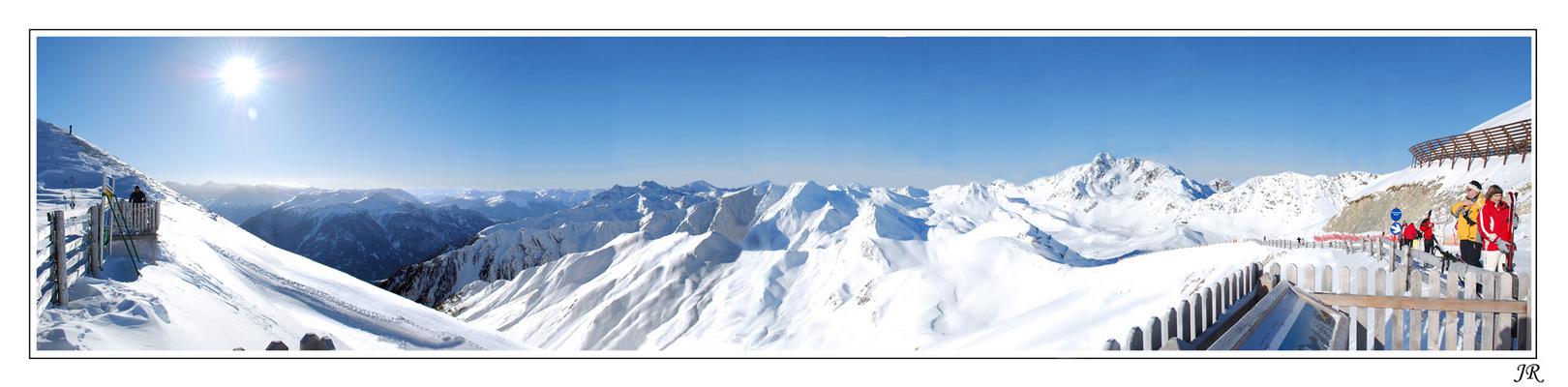Serfaus Panorama