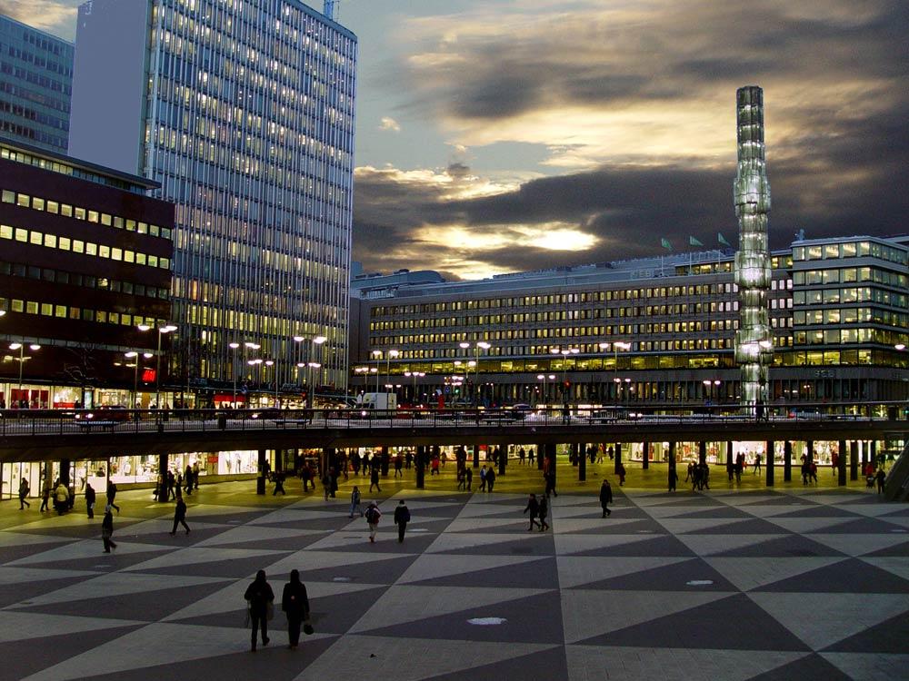 Sergel square, Stockholm