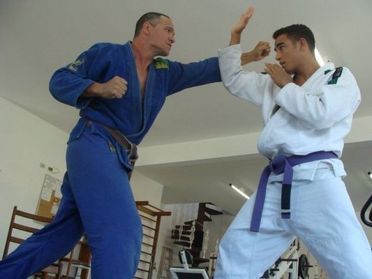 Sergio Kato Jiu-Jitsu Training
