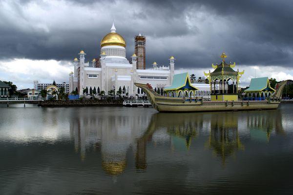 Seri Omar Ali Moschee