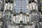 Serie Aachen: Detail des Aachener Doms