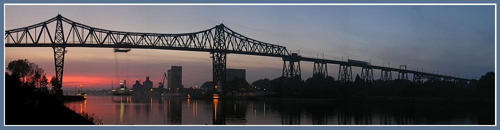 Serie Hochbrücke Rendsburg letztes Bild