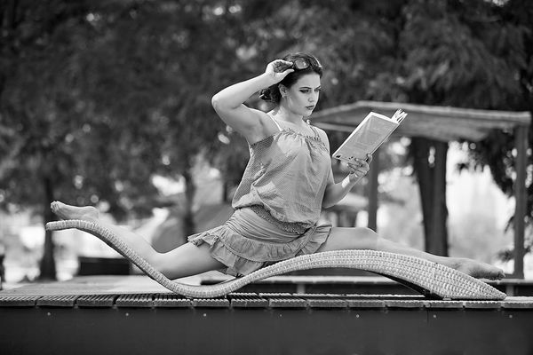 Serie: Tanzendes Köln, Marina Yakubova, Pole Dance...