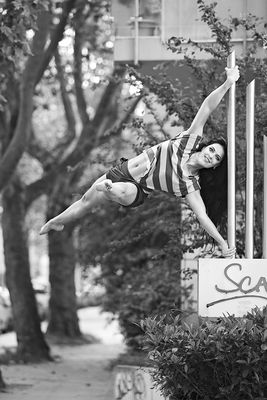 Serie: Tanzendes Köln, Marina Yakubova, Pole Dance