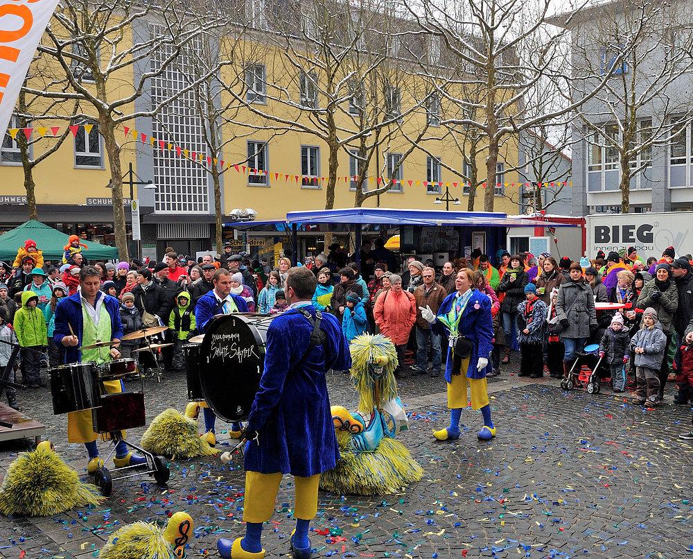 "Serie über "" Gugge EXplosionen 2013 Lörrach "" am 9.Februar Nr.12"