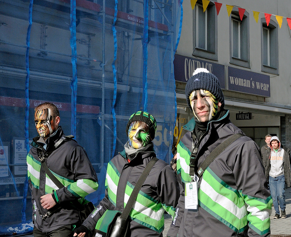 "Serie über "" Gugge EXplosionen 2013 Lörrach "" am 9.Februar Nr.24"