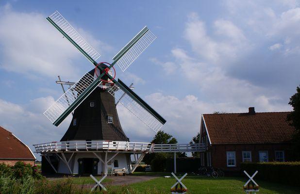 Seriemer Mühle mit Gallerie.