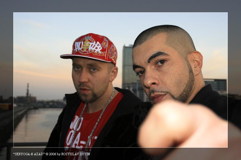 Seryoga und Azad (bei MTV in Berlin)