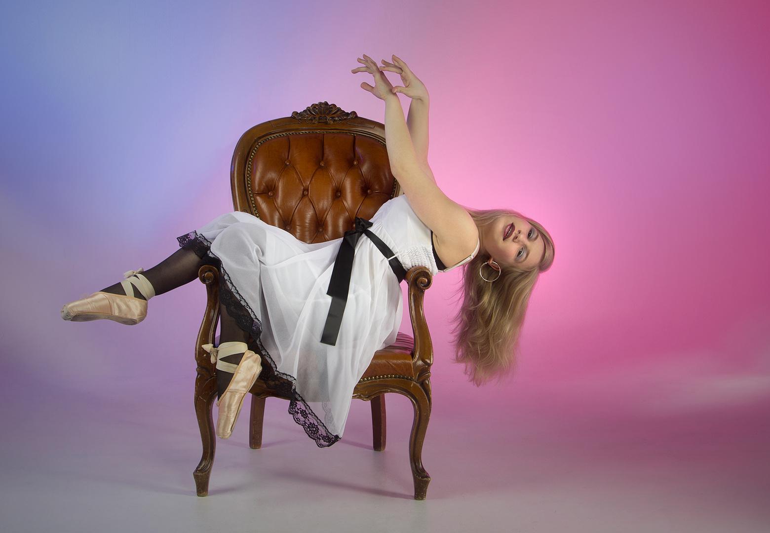 Sessel der Tänzerin