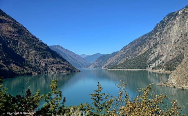Seton Lake bei Lilloet