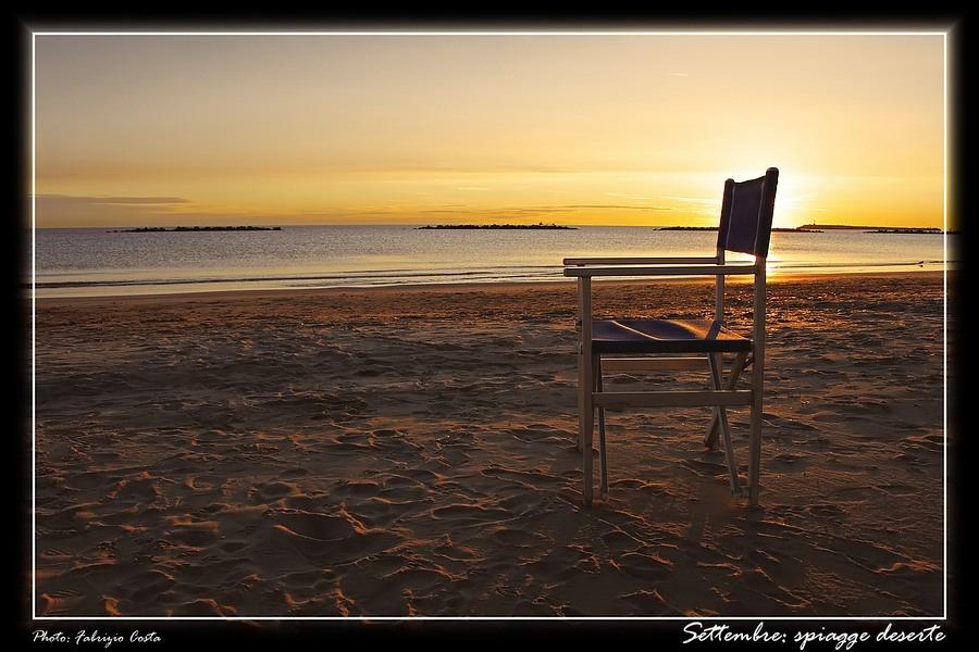 Settembre: spiagge deserte