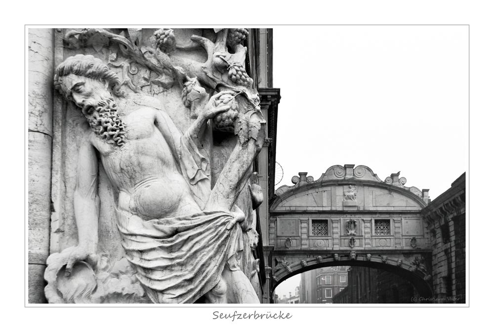 Seufzerbrücke in Venedig