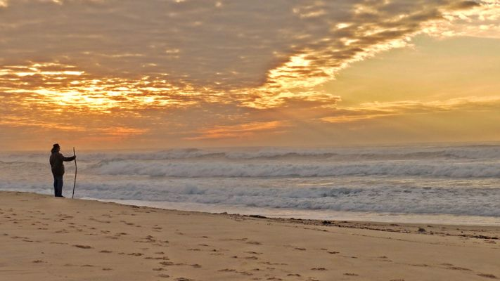 Seul avec l'océan