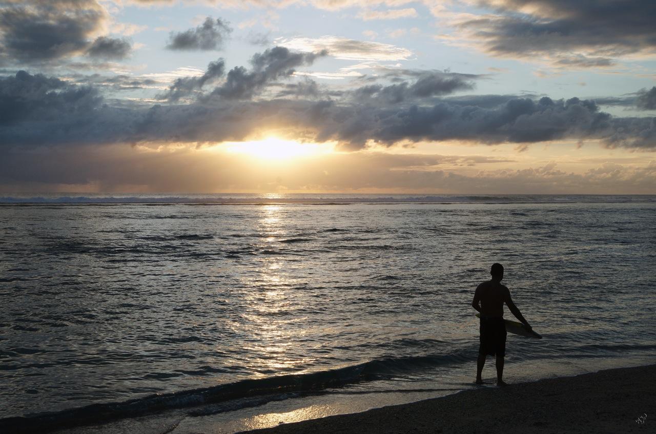 Seul sur la plage ...