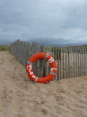 Seul sur le sable...