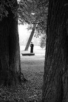 Seule au parc...