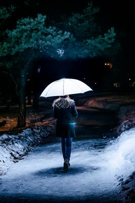 Seuls dans la nuit