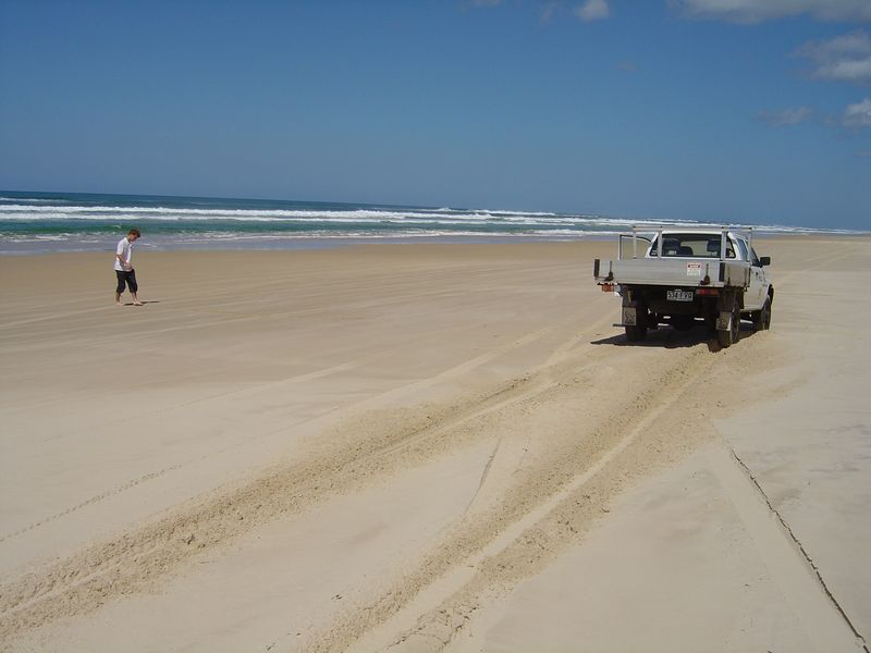 Seventy-five mile beach, Fraser Island