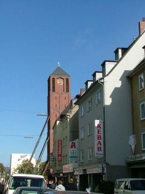 Severin Der schiefe Turm von Köln