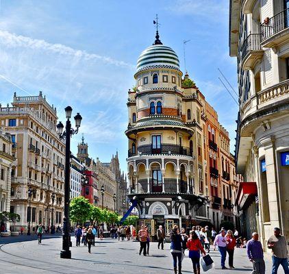 Sevilla 01 - eine Fußgängerzone