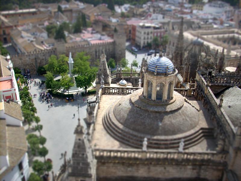 Sevilla - heisse Stadt