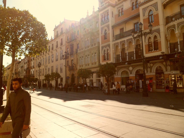 Sevillas city