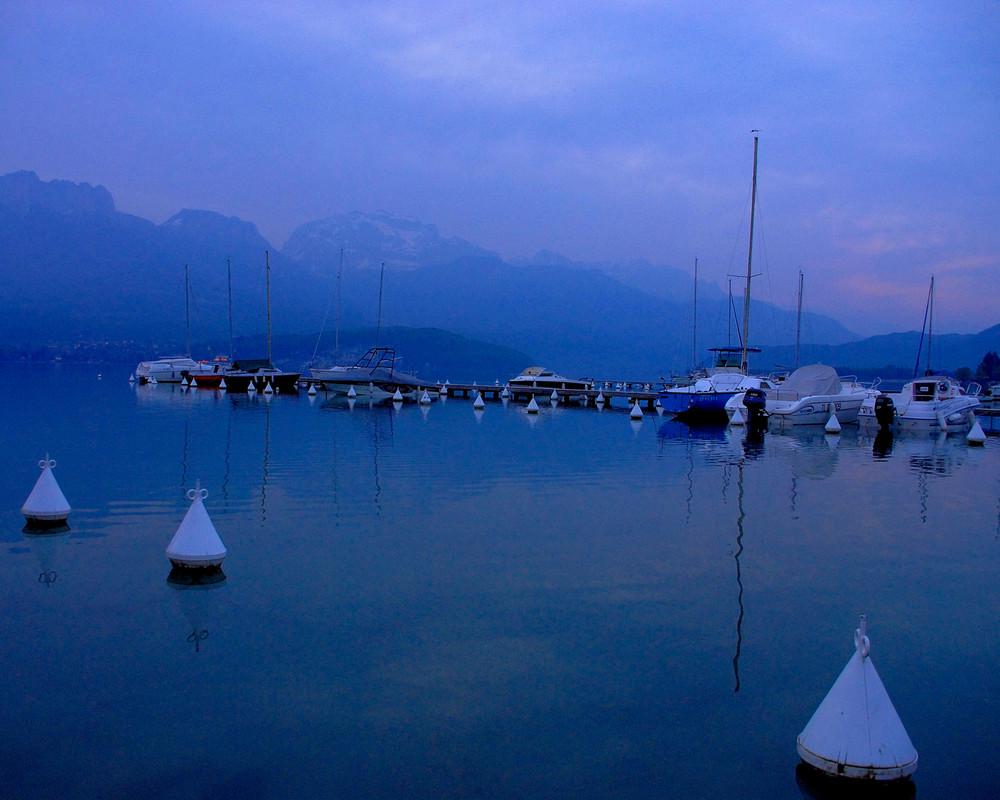 Sevrier : Lac d'Annecy