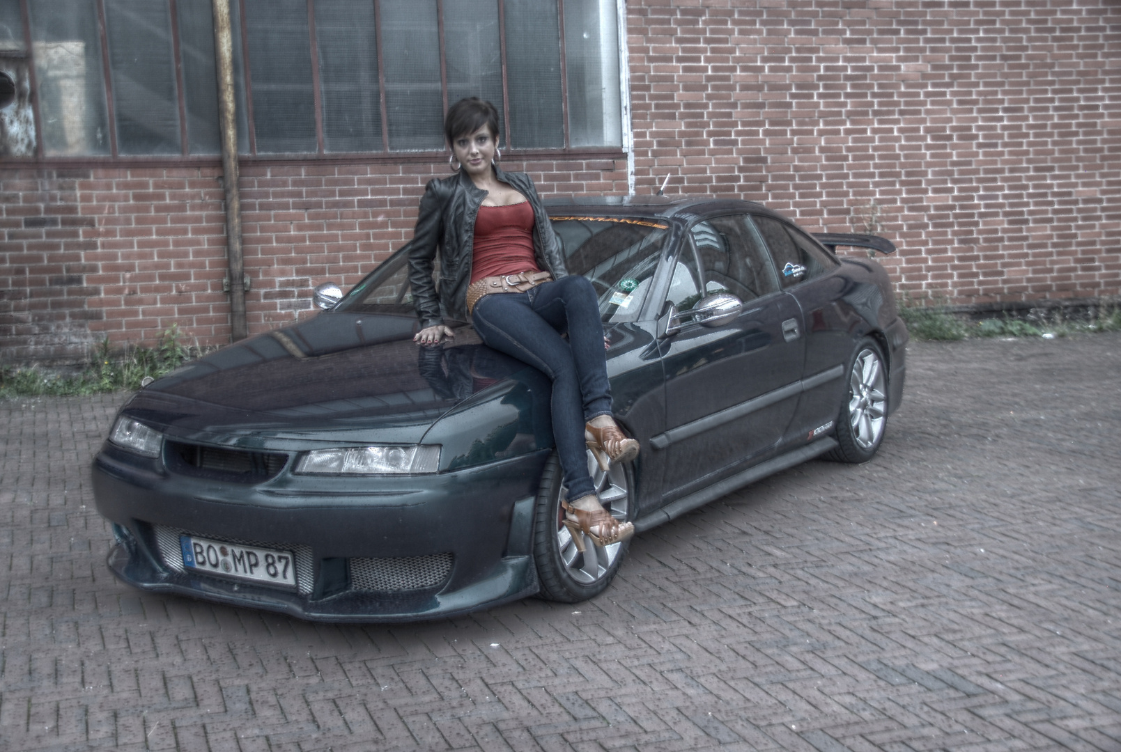 Sexy Car HDR