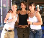 Sexy Girls mit Eiskrem