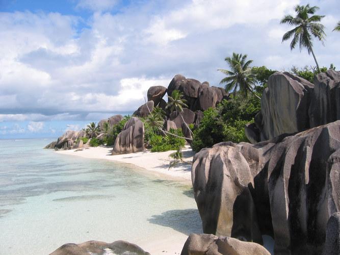 Seychellen, La Digue, Anse Sourse D'Argent