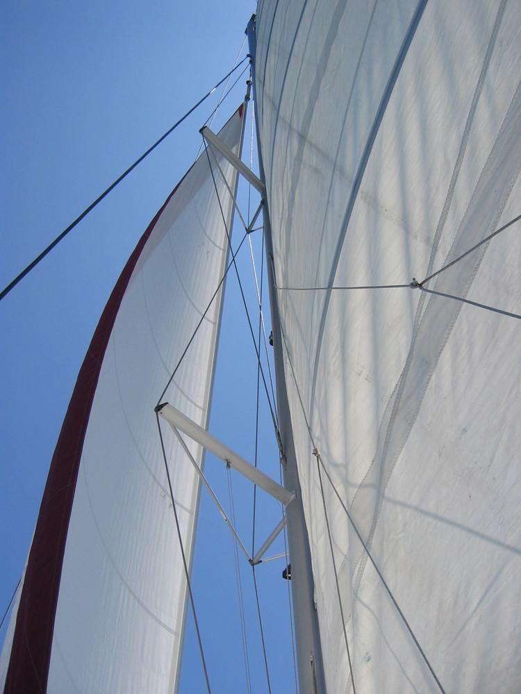 Seychellen- unter Segeln