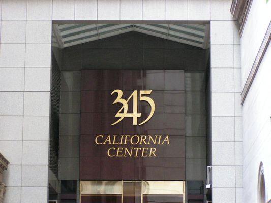 S.F. 345 California Center