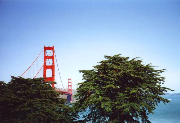 SF Golden Gate Bridge (April 2002)